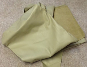 N18 Leather Cow Hide Cowhide Upholstery Craft Fabric Cork Tan 45 sq ft
