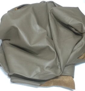 BR218 Leather Cow Hide Cowhide Upholstery Craft Fabric Brahma Taupe 48 sq ft