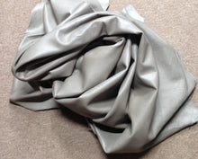 BR717 Leather Cow Hide Cowhide Upholstery Craft Fabric Mountain Smoke Gray 44 sf