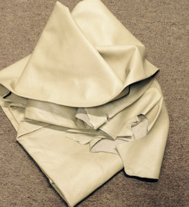 BR719 Leather Cow Hide Cowhide Upholstery Craft Fabric Beige Brahma 64 sq ft