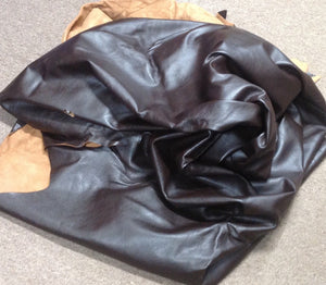BR804 Leather Cow Hide Cowhide Upholstery Craft Fabric Brown Brahma 63 sq ft