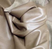 WS11 Leather Cow Hide Cowhide Upholstery Craft Fabric Dark Mushroom Brown 30 52