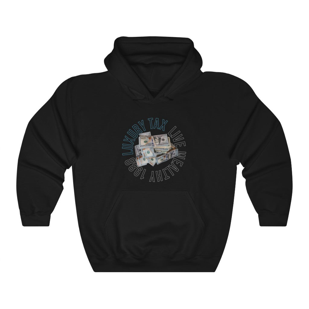 Money Make The World Go Around Hoodie in Black