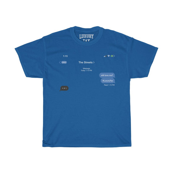 The Streets T-Shirt in Royal Blue