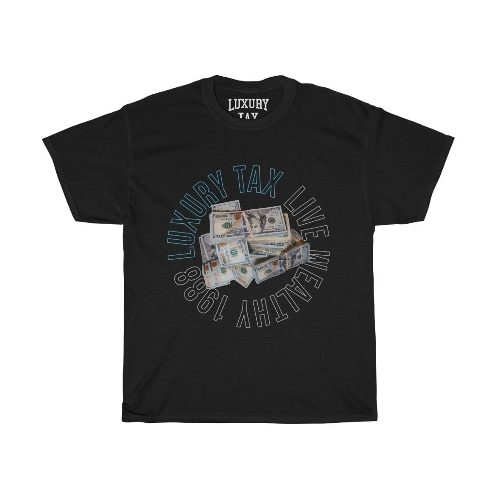 Money Make The World Go Around T-Shirt in Black