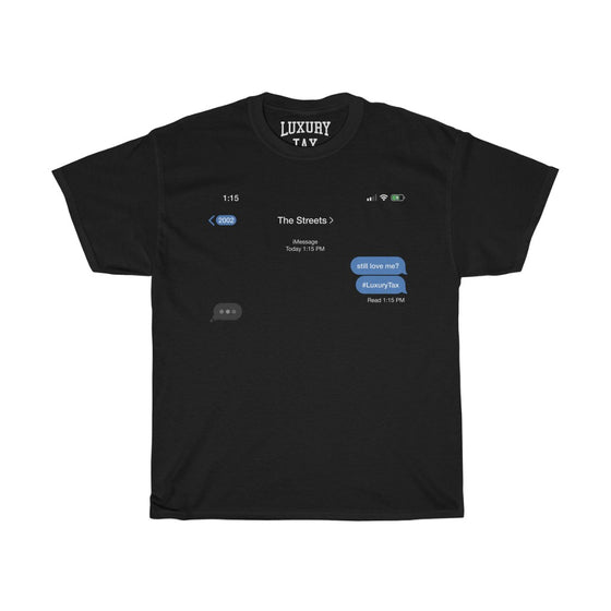 The Streets T-Shirt in Black
