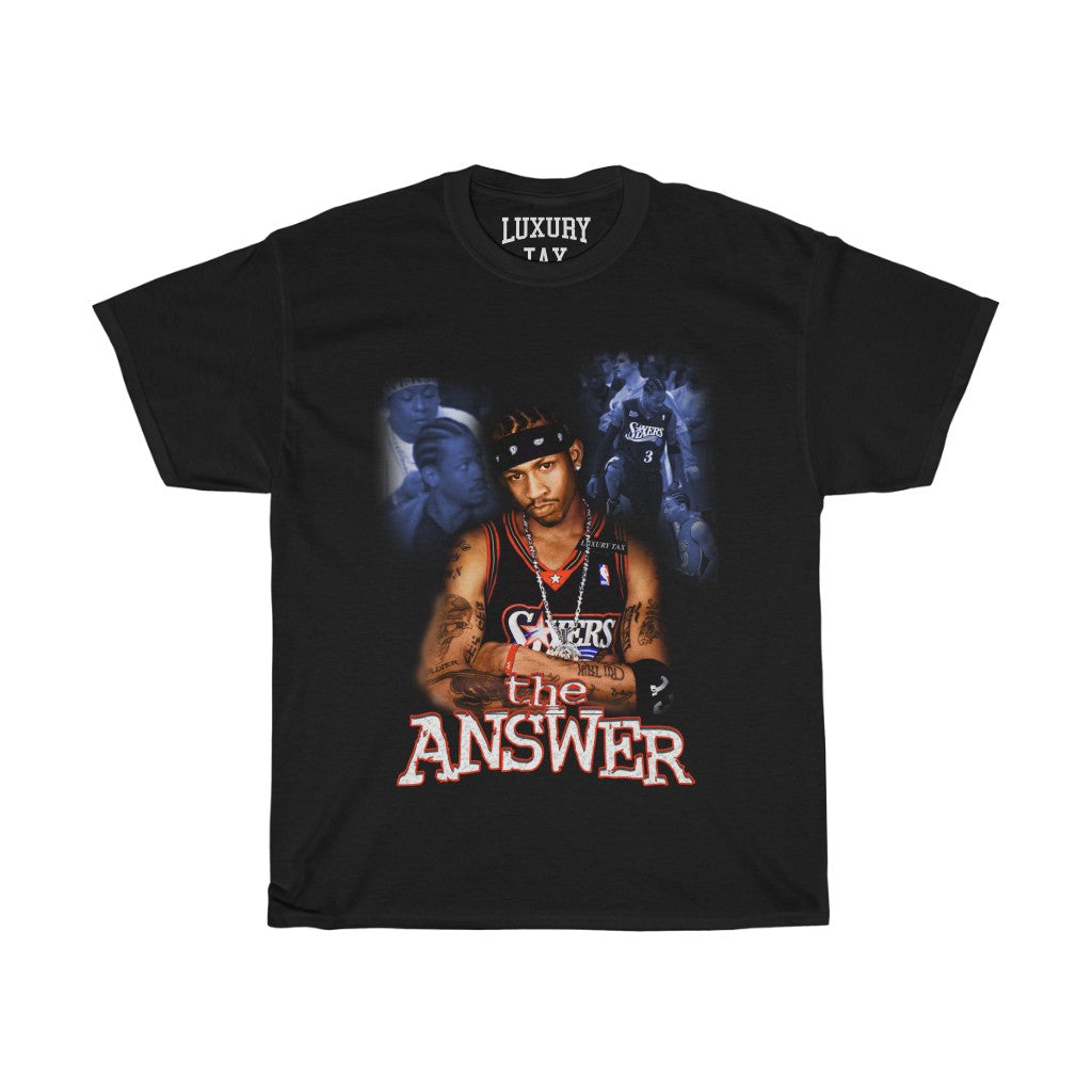 The Answer T-Shirt in Black