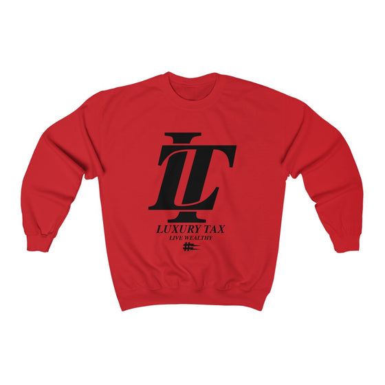Luxury Tax Logo Sweatshirt in Red