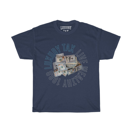 Money Make The World Go Around T-Shirt in Navy