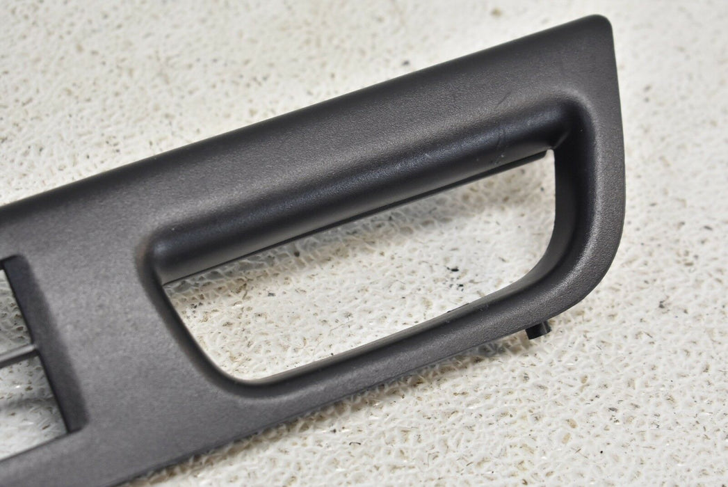 08-15 Mitsubishi Evolution X Master Switch Trim 2008-2015