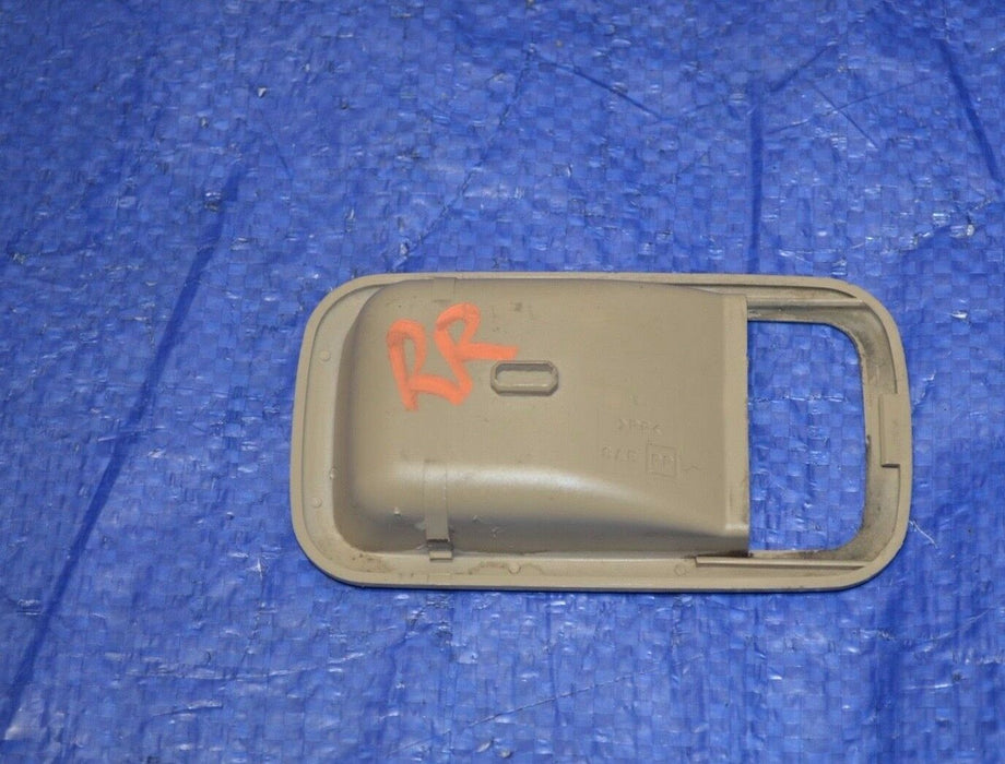 93-97 Subaru Impreza Door Handle Trim Rear Right Passenger RH OEM 1993-1997