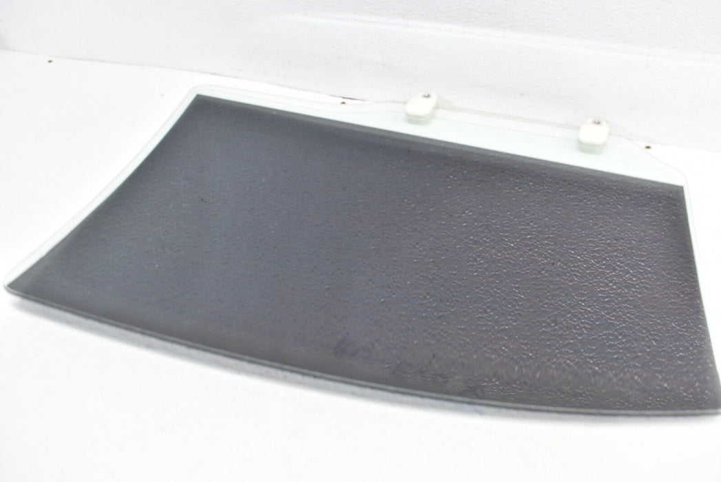 08-15 Mitsubishi Evolution X Rear Left Door Glass Window LH EVO 2008-2015