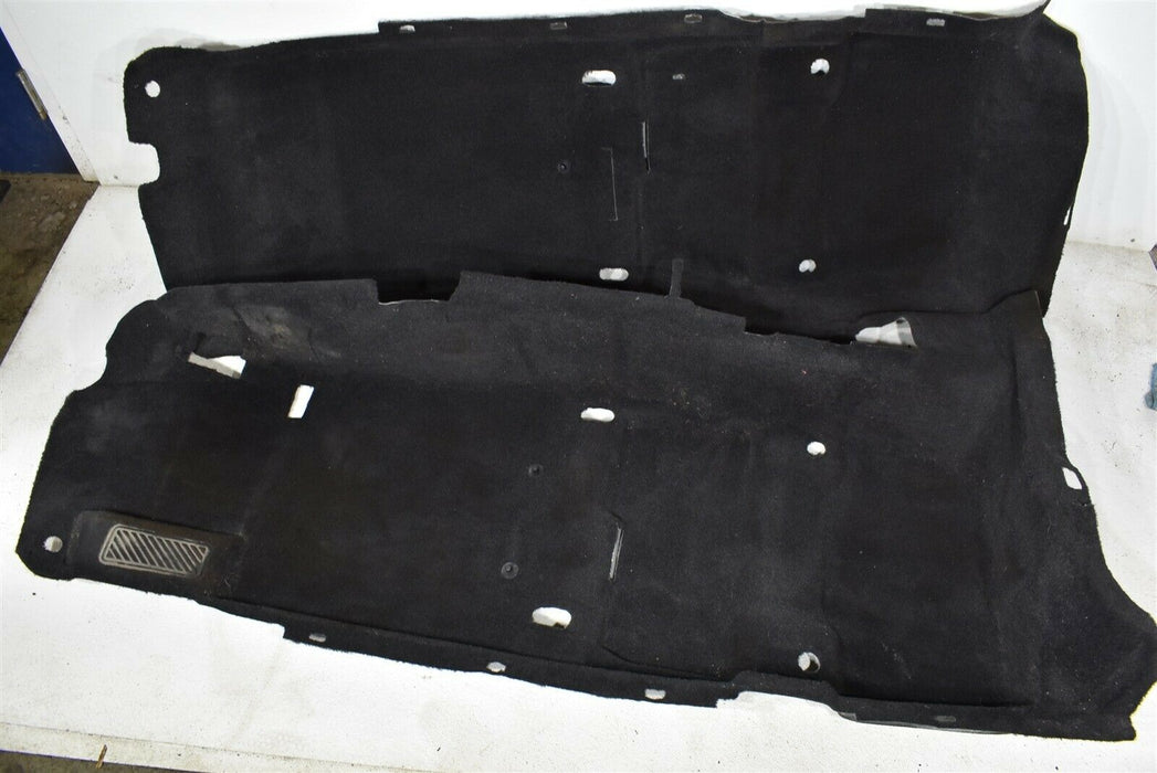 2009-2012 Hyundai Genesis Coupe Floor Carpet Mat Liner Assembly OEM 09-12