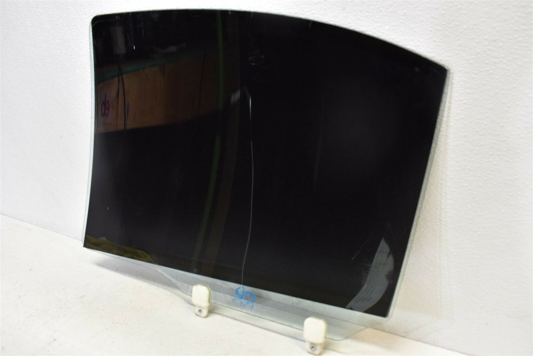 08-15 Mitsubishi Evolution X Rear Right Door Glass Window Passenger RH 2008-2015