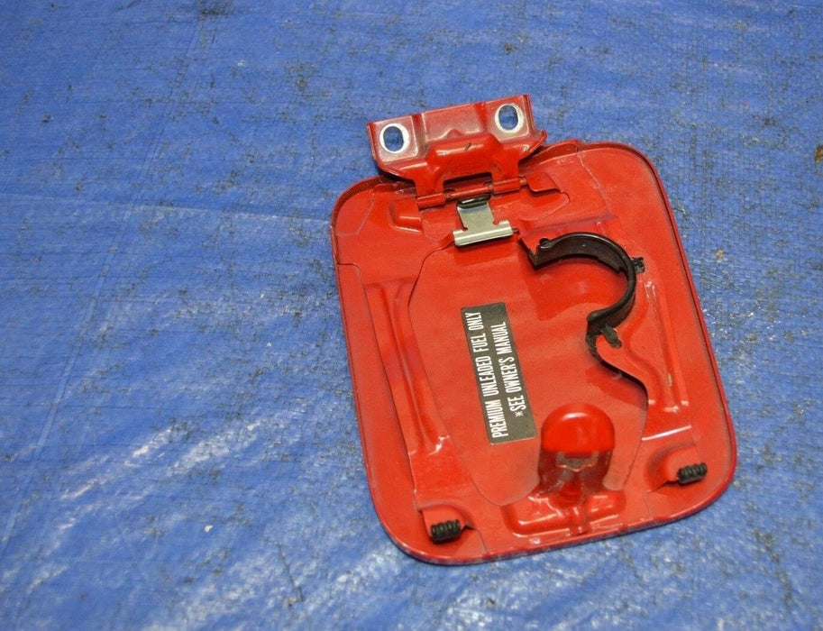 00-03 Honda S2000 Ap1 Red Gas Door Cover Assembly F20C OEM 2000-2003