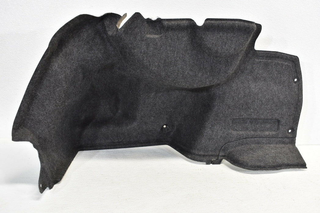 15-17 Subaru WRX STI Left Rear Trunk Trim Panel Cover LH Driver Side 2015-2017
