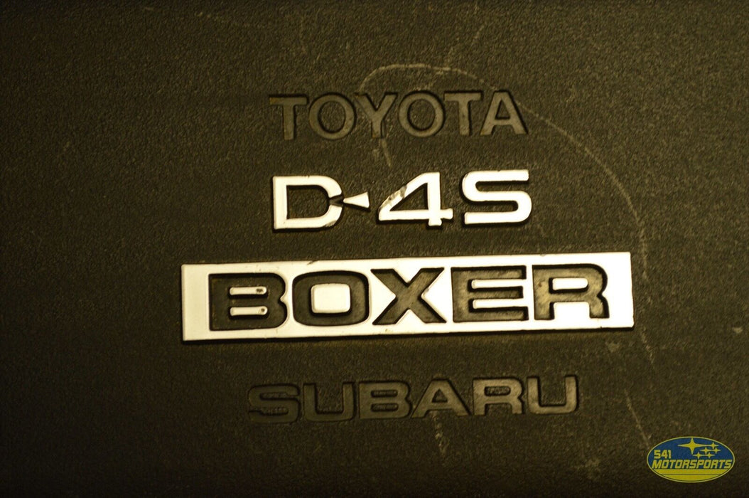 13-15 Scion FR-S Engine Cover Subaru D45 Boxer 2013-2015