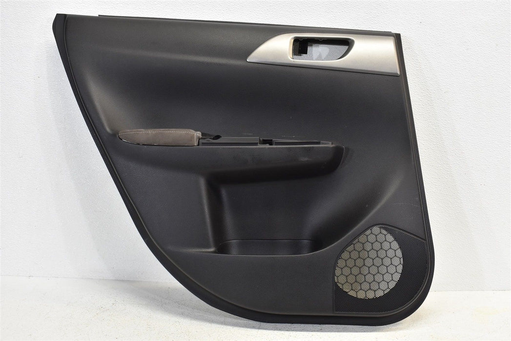 2008-2014 Subaru Impreza WRX STI Rear Left Door Panel Cover LH 08-14