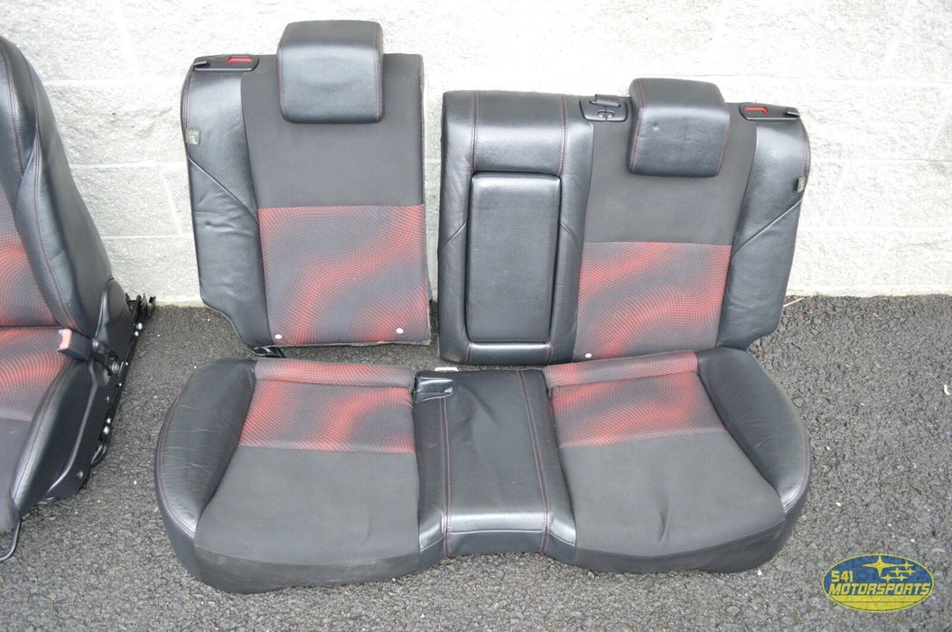 10-12 Mazdaspeed3 Front Rear Seat Set Assembly OEM Speed 3 MS3 2010-2012