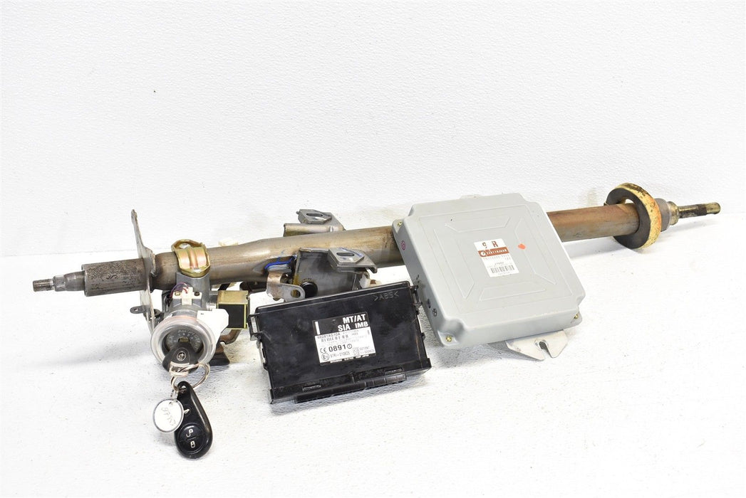 2005 Subaru Legacy Outback XT Steering Column ECU Ignition & Key 05 AT