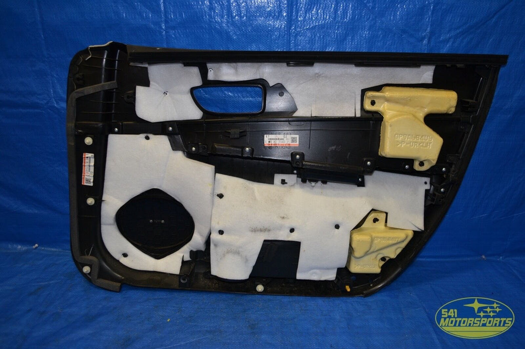 2006 2007 Mazdaspeed6 Door Panel Front Left Driver LH OEM Speed 6 MS6 06 07