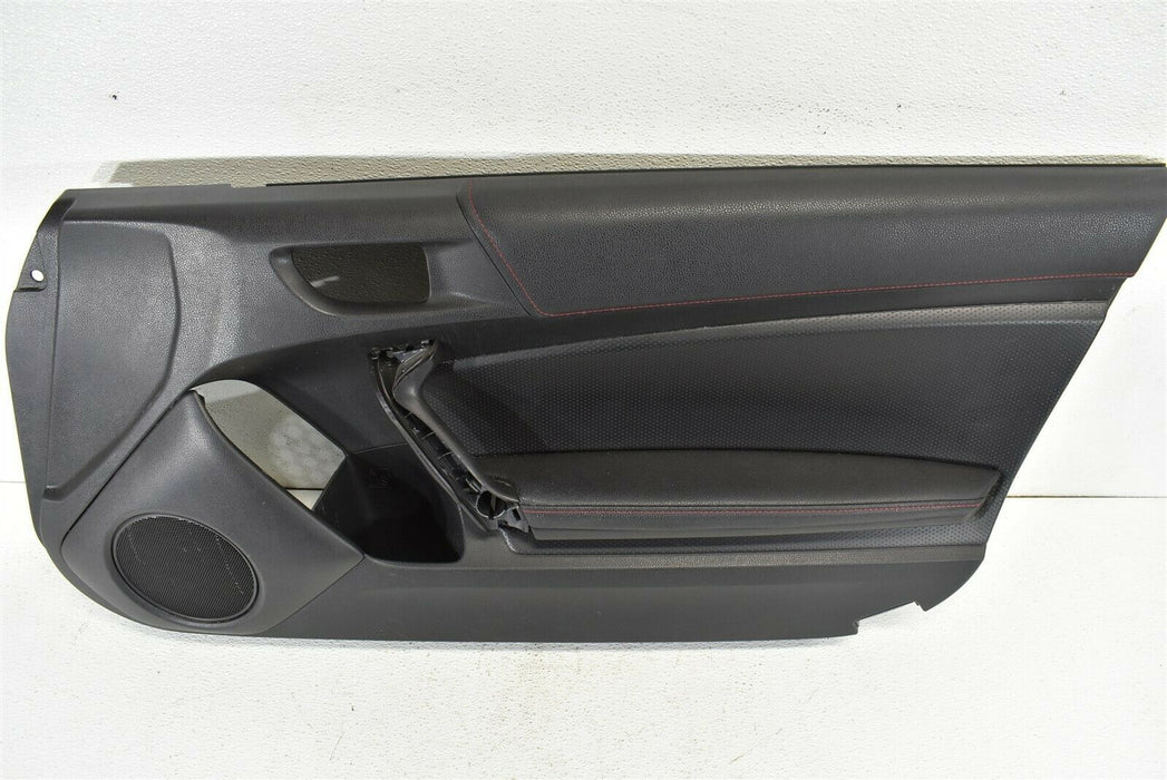 2013-2018 Subaru BRZ Door Panel Cover Front Right Passenger RH FRS FR-S 13-18