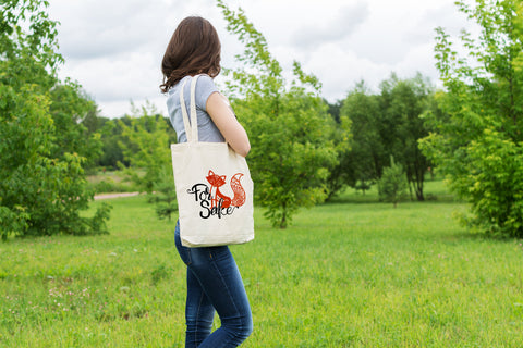 For Fox Sake - Canvas Tote Bag
