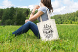 Life is Tough But So Are You - Canvas Tote Bag