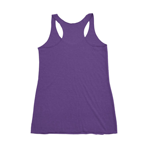 Small Kettle Belle Tank - Purple and Pink Tank - Ready to Ship - Workout Tank - Racerback Tank - kettlebell tank