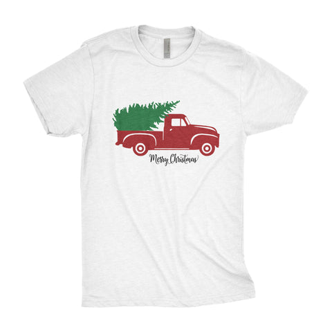 Christmas Truck Tee - Vintage Red Truck