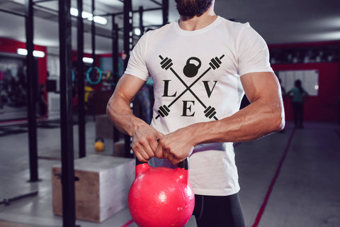 Kettlebell Love - Men's Triblend Tshirt