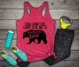 Screw Weight Loss Tank - Weight Lifting Tank - Body Positive Top - Body Positivity - Body Positive Shirt - Workout Tank - Gift for Her