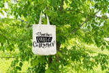 I Run on Coffee & Cuss Words Tote - Ready to Ship - Coffee Cuss Words - I Run on Coffee - Coffee Tote Bag - Coffee and Cuss Words