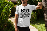 Love is a Four Legged Word - Men's Triblend T-shirt