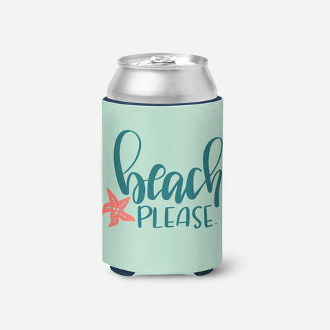 Beach Please - Can Cooler