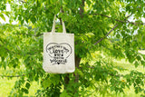 You Can't Buy Love But You Can Rescue It Tote - Rescue Dog Tote Bag