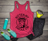 Kitten My Swole On Tank - Women's Triblend Tank Top