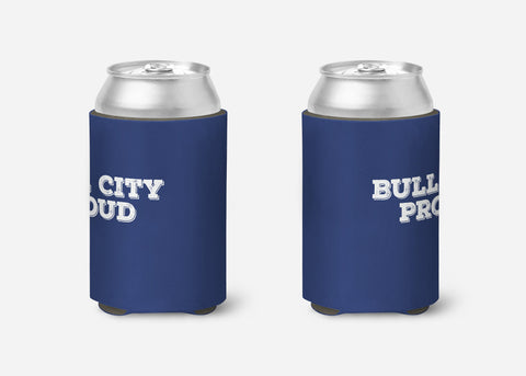 Bull City Proud Can Cooler - Durham NC Cozie - Bull City Cozie - North Carolina Cozie - Party Favor Cozies - Durham Proud - Bull City