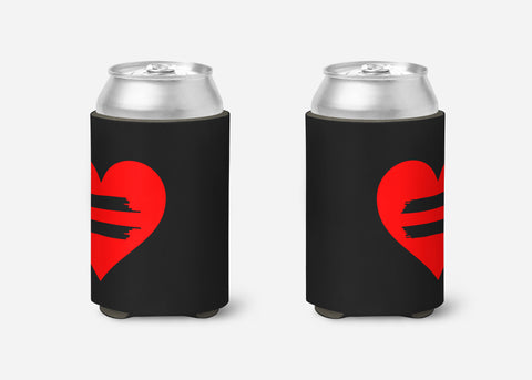 Equality Heart - Can Cooler