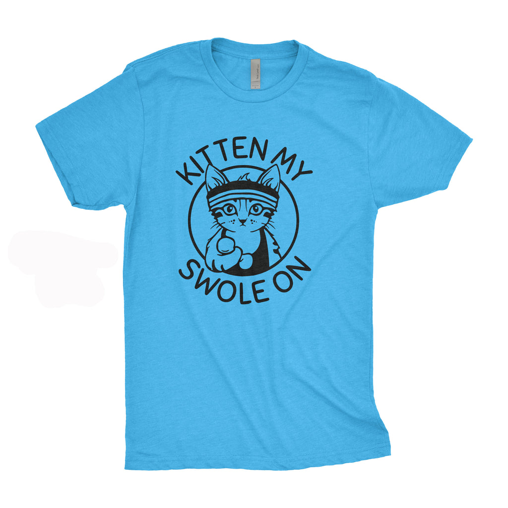 Medium Men's Tee - Kitten My Swole On Tee