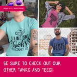 I'm Getting Married So We're Getting Drunk - Bachelorette Triblend Tanks