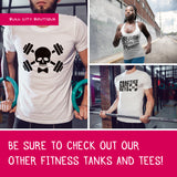 Extra Large Men's Tee - Practice Safe Sets Tee - Ready to Ship - Weightlifting Tee - Gym Shirt - Workout Shirt - Funny Gym Shirt - Fitness