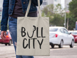 Bull City - Durham, NC - Canvas Tote Bag