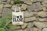 Durham, NC - Canvas Tote Bag