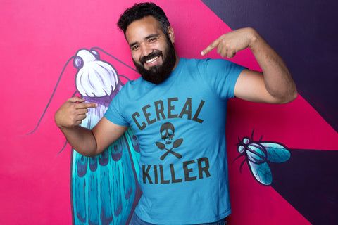 Cereal Killer  - Men's Triblend Tshirt