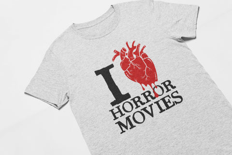 I Love Horror Movies Tee - Men's Triblend T-shirt