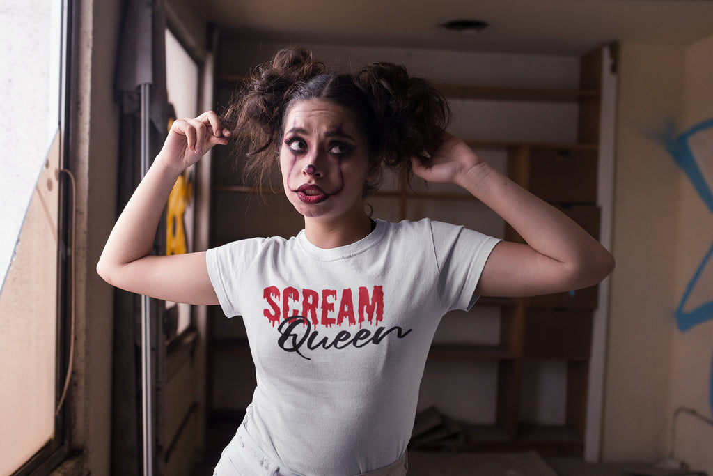 Scream Queen - Women's Triblend Tshirt