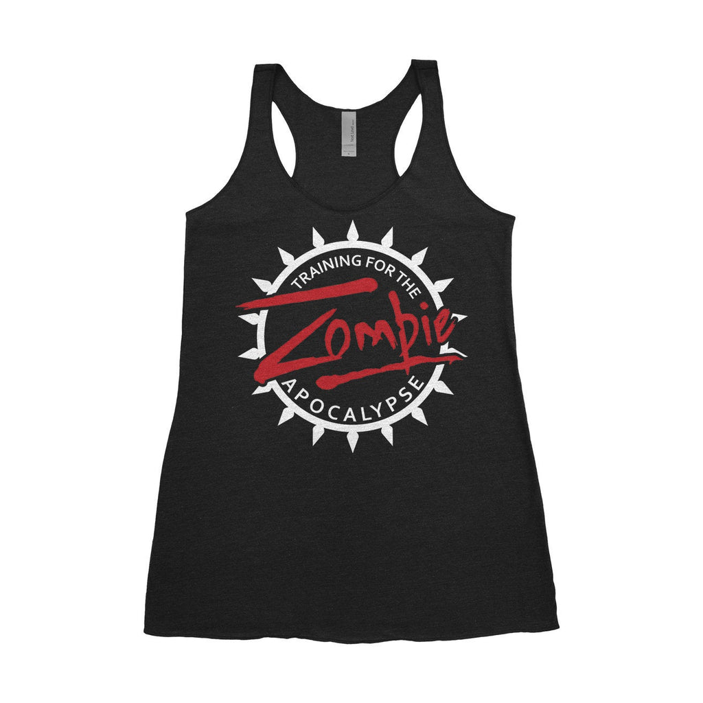 Training for the Zombie Apocalypse - Women's Triblend Tank