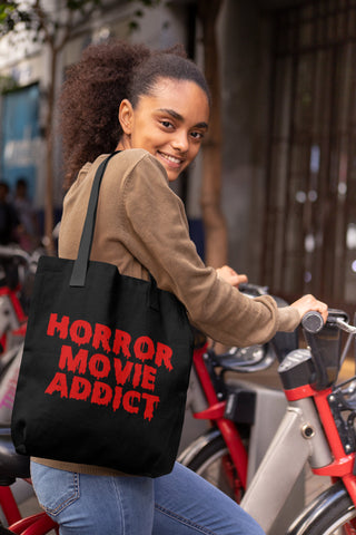 Horror Movie Addict - Canvas Tote Bag