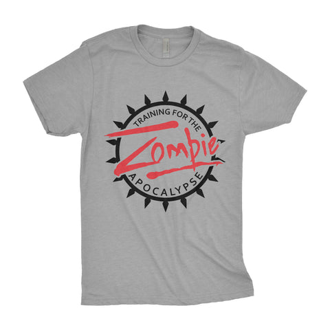 Training for the Zombie Apocalypse - Men's Triblend Tshirt
